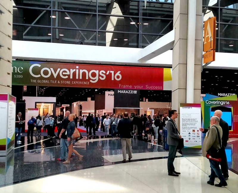 COVERINGS 2016 AT CHICAGO US